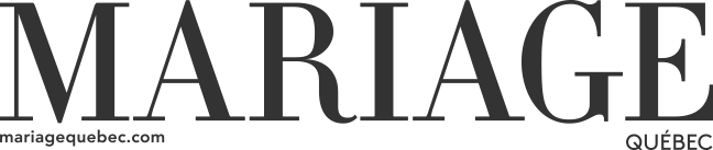 Mariage Quebec Logo noir et blanch